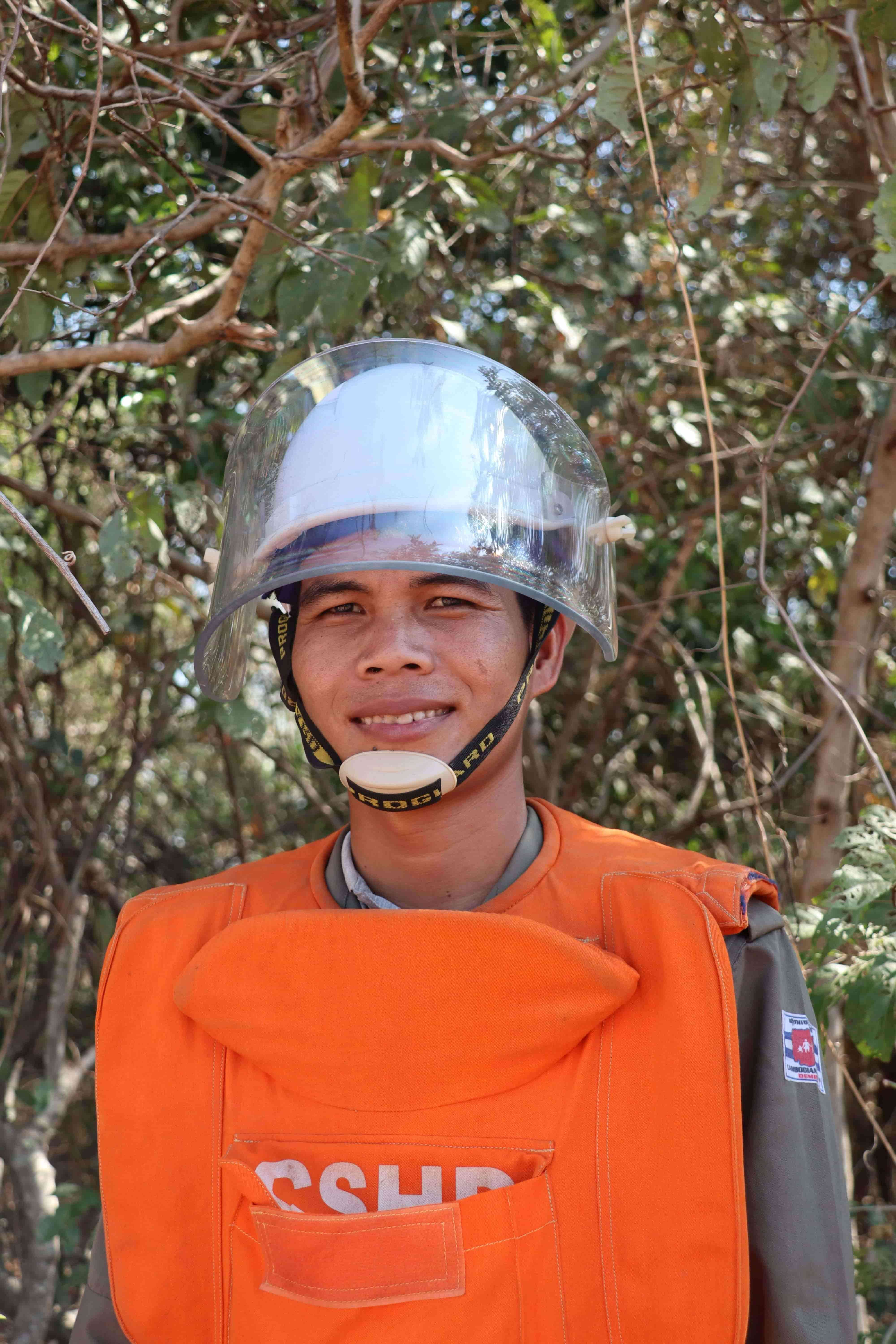 More safety for Cambodia - through mine clearance and ordnance disposal