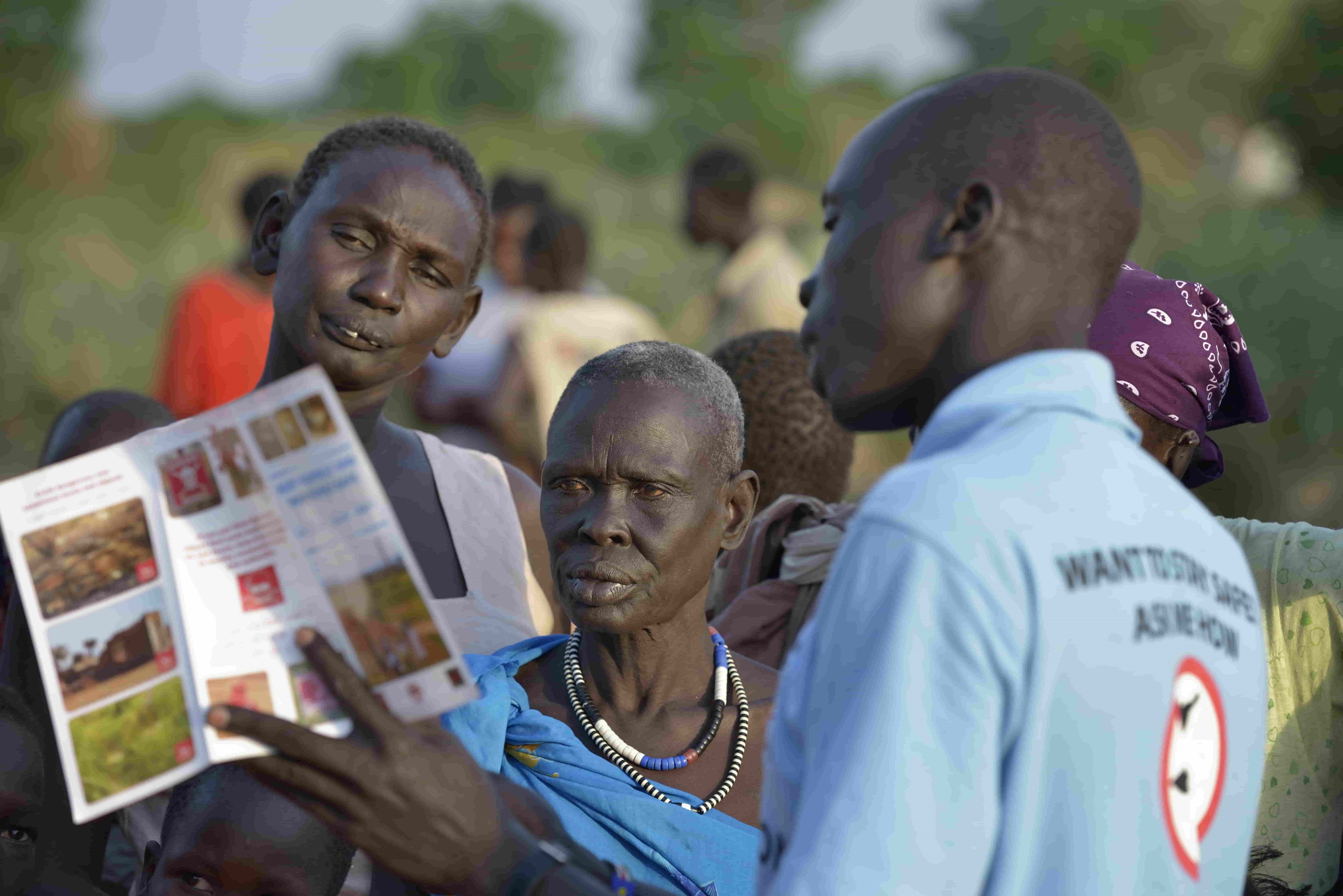 Protecting people in Southern Sudan from mine accidents through risk education.